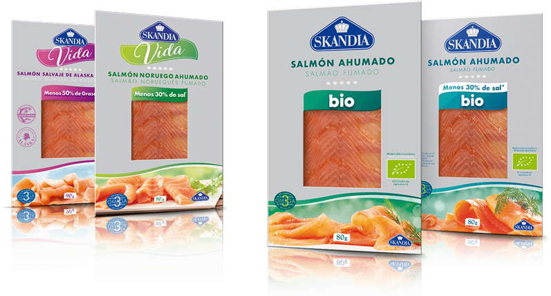 salmon bajo en grasa