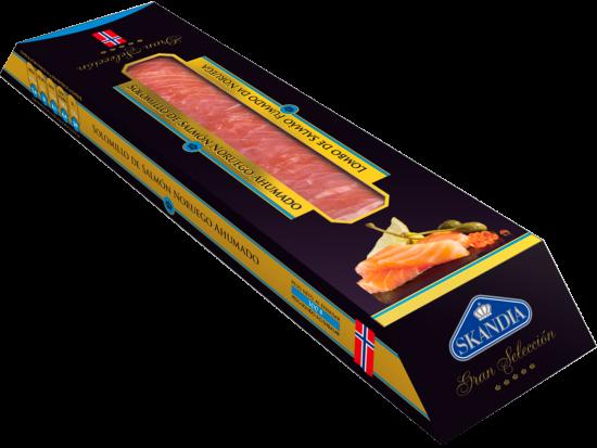 solomillo gourmet de salmon noruego ahumado