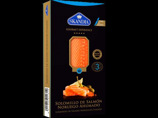 solomillo de salmon noruego ahumado para cortar al gusto