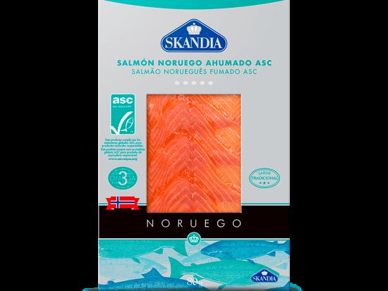salmon noruego ahumado asc