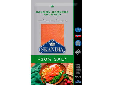 salmon noruego ahumado con menos sal