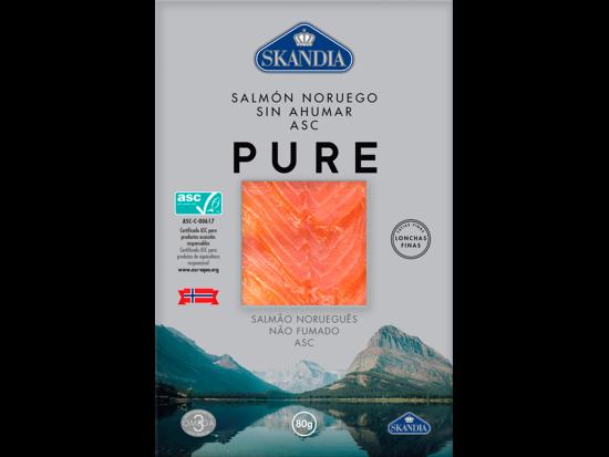 Norwegian salmon unsmoked natural asc