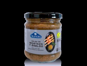 salsa especial de mostaza y eneldo skandia